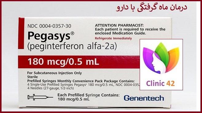 دارو برای درمان ماه گرفتگی