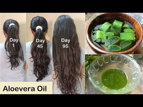 روغن الو ورا برای افزایش رشد مو ها بسیار موثر است