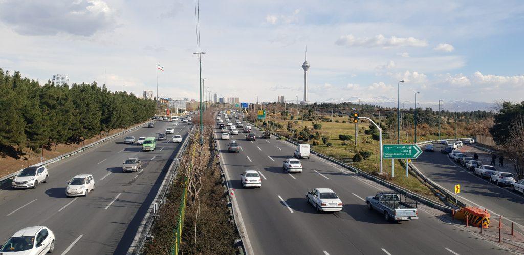 پارک نهج البلاغه تهران محدوده پونک مرزداران حکیم