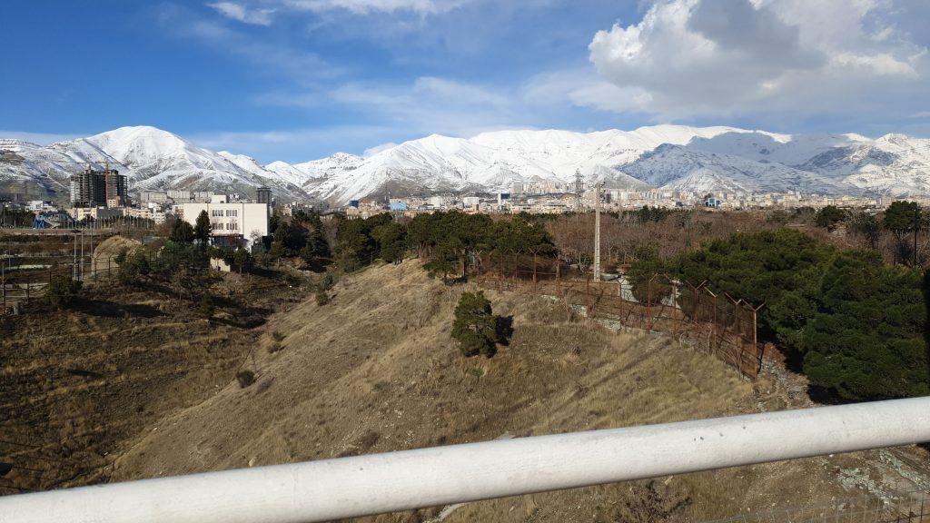 عکس تهران نهج البلاغه بزرگراه حکیم پونک مرزداران