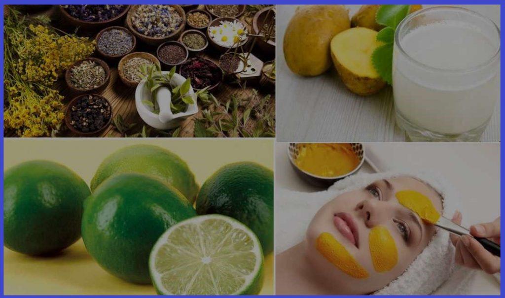 درمان لکه های پوستی