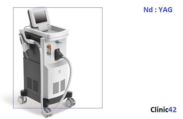 دستگاه لیزر ND : YAG