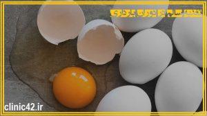 تخم مرغ ، تغذیه سالم در دوران حاملگی